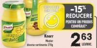 Knorr mustar