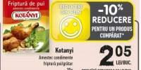 Kotanyi amestec condimente friptura pui/ gratar