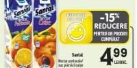 Santal nectar portocale/ piersici/ caise