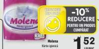Hartie igienica Molena