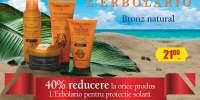 40% reducere la orice produs L'Erbolario pentru protectie solara