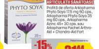 Arkopharma - Adjuvante menopauza/articulatii sanatoase