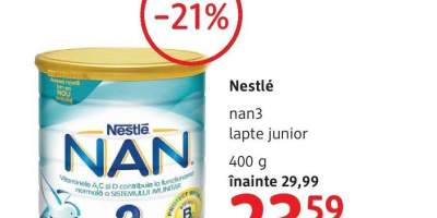 Nestle Nan3 lapte junior