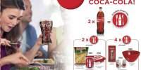 Castiga premii cu Coca-Cola