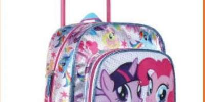 Troler gradinita My Little Pony, 33 cm