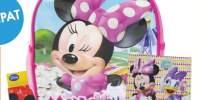 Minnie Mouse Ghiozdan de gradinita echipat