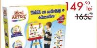 Tabla cu activitati educative