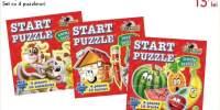 Start puzzle Set cu 4 puzzle-uri