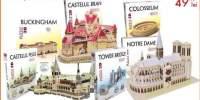 Puzzle 3D, diverse modele