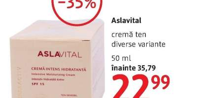 Crema ten, Aslavital