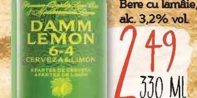Bere cu lamaie, Damm Lemon