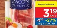 Bacon crud-uscat