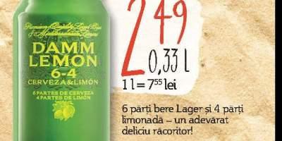 Bere cu lamaie, alcool 3.2%