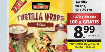 Tortilla wraps, El Tequito