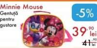 Gentuta pentru gustare Minnie Mouse