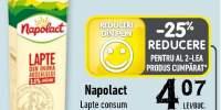 Lapte consum, Napolact