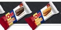 Biscuiti cu crema, Rom