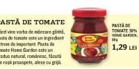 Pasta de tomate, Home Garden