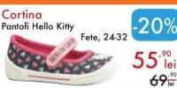 Pantofi Hello Kitty Cortina
