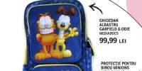 Ghiozdan albastru Garfield&Odie, Mediadocs