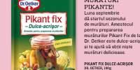 Amestec pentru prepararea muraturilor Pikant Fix