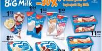 30% reducere la toata gama de inghetata Big Milk