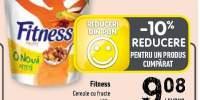 Fitness cereale cu fructe