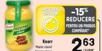 Knorr mustar clasic/ dulce/cu hrean