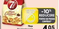7Days mini croissante cu cacao