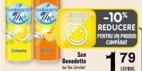 San Benedetto Ice Tea lamaie/ piersica/ceai verde