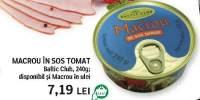 Macrou in sos tomat