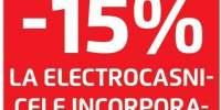 15% la electrocasnice incorporabile Bosch!