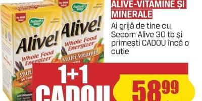 Vitamine si minerale Alive