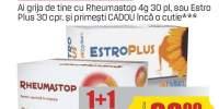 Capsule dureri articulare/ menopauza, Rheumastop/ Estroplus