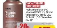 Vitamine Probiotice GNC
