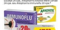 Produse pentru imunitate Arkopharma