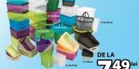 Cutii de depozitare din plastic
