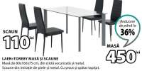 Laen + Toreby masa si scaune