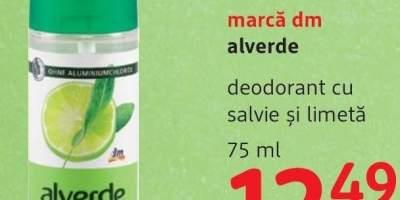 Deodorant cu salvie si limeta, marca dm Alverde