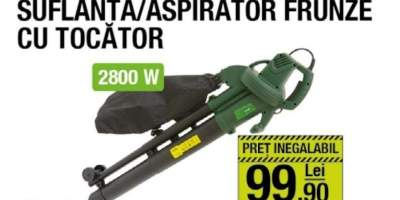 Suflanta/ aspirator frunze cu tocator