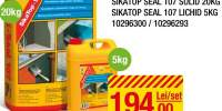 Mortar bicompozit impermeabilizare SikaTop