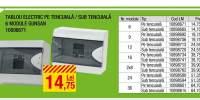 Tablou electric pe tencuiala/ sub tencuiala 6 module, Gunsan
