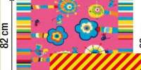 Covor PPR Kids flori roz
