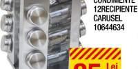 Suport condimente 12 recipiente, Carusel