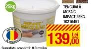 Tencuiala mozaic Impact 25 kilograme