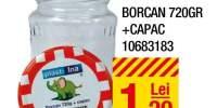 Borcan 720 grame + capac