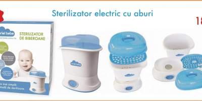Sterilizator electric cu aburi, Noriel Bebe