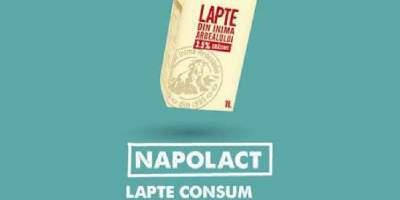 Napolact lapte consum