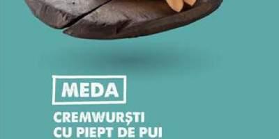 Cremwursti cu piept de pui Meda