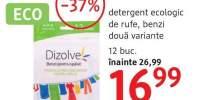 Detergent ecologic de rufe benzi Dizolve